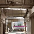 Photos: 駅前の踏切