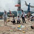 Photos: ゴミ捨て場か?な深圳の海水浴場(笑) (6)