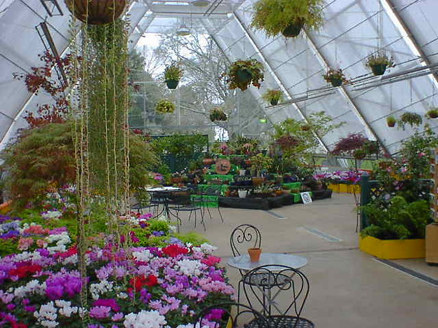 Botanical Gardens温室コーヒーショップ