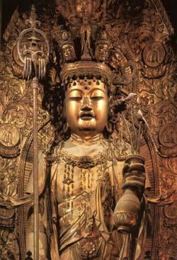長谷寺十一面観世音菩薩立像
