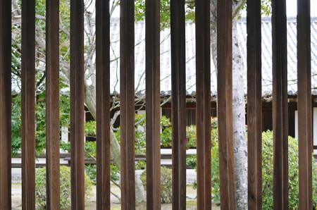 法隆寺西院回廊連子窓2014年02月10日_DSC_0325