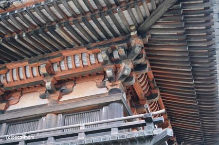 法隆寺東院袴付き鐘楼2014年02月10日_DSC_0366