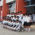 写真: 第90回高校野球県予選大会開会式1