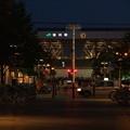 買い物公園から見る旭川駅