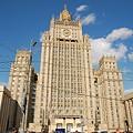 写真: 外務省の建物