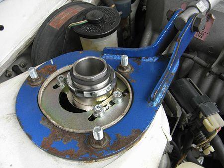 ドッグファイト 車高調整機能付きピロアッパーマウント 2