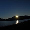 Photos: 湖から見た夕景