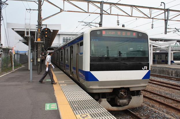 E531系K419編成 1364M 普通 上野行