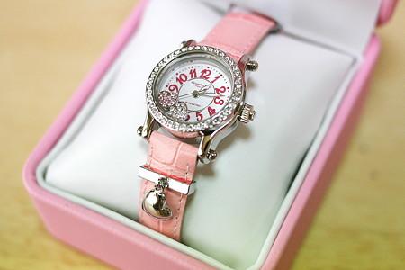 ぶりぶりお嬢様腕時計