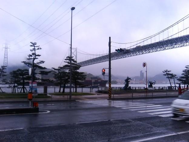 Photos: 大荒れの壇之浦古戦場