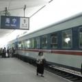 写真: 海寧駅