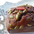 Photos: 苺とカボチャシードのチョコケーキ