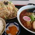 Photos: 肉入り野菜炒め定食