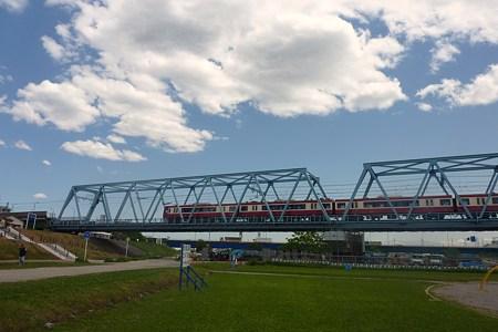 京急 多摩川橋梁