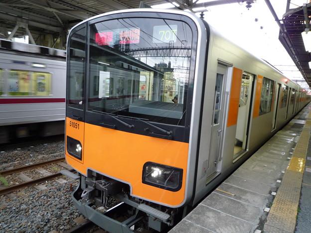 東武50050系、51051F 東武伊勢崎線春日部にて