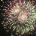 写真: 奈良、吉野川の花火?