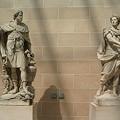 Photos: ハンニバルとカエサルの彫刻