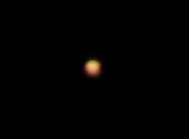 4/12の火星
