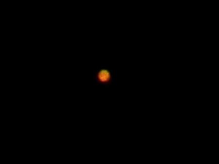4/14の火星