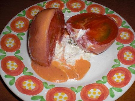 トマトサラダ カット