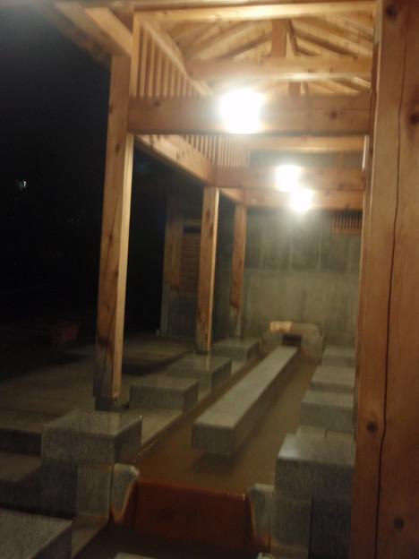 写真: 遠刈田温泉共同湯神の湯そのとの足湯1