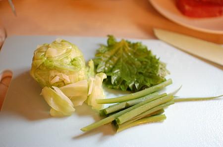 野菜を準備