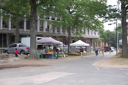 HarvardのFarmar's Market