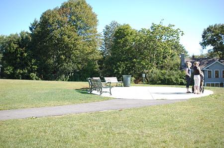 Robbins Farm Parkの丘