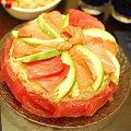 写真: お寿司ケーキ