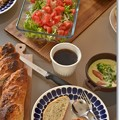 Photos: アマニバゲットとアマニカンパーニュde朝食