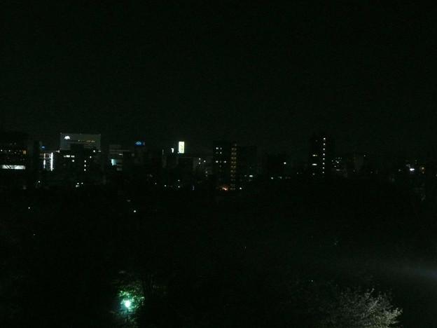 姫路城から姫路駅に向けて撮影