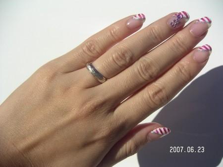 Sweet Lady Marine Nail - hand version