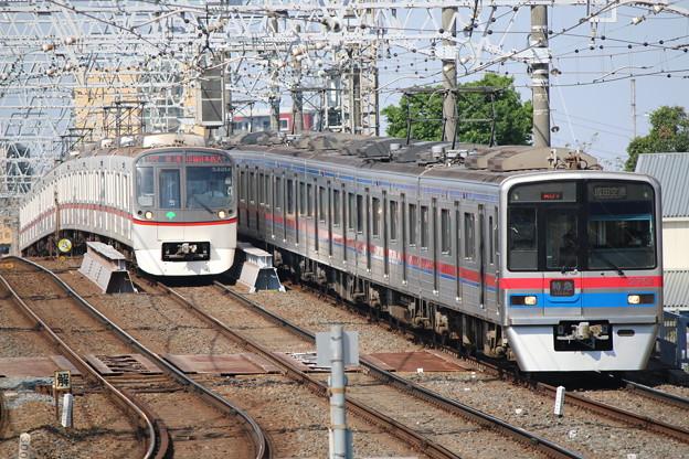 浅草線5300形 5321F・京成3700形 3708F