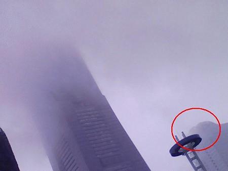 080826-今日も雨のランドマークタワー (1)