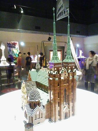 080829-レゴ展 ロスキレ聖堂 (1)