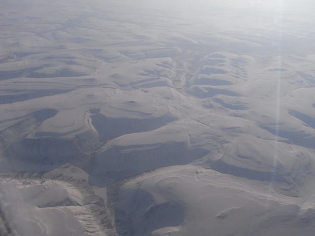 シベリア上空