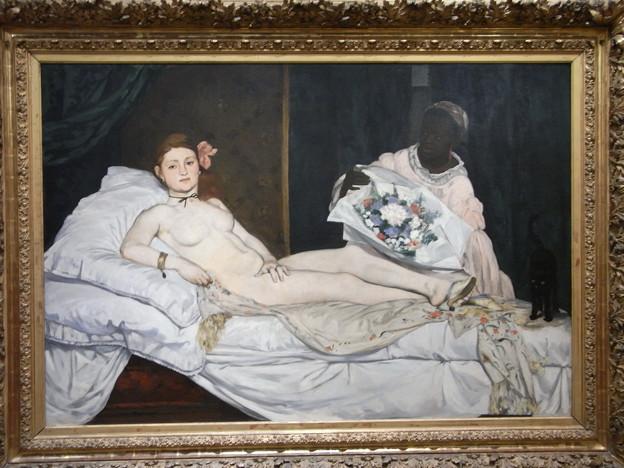 オルセー マネ オランピア