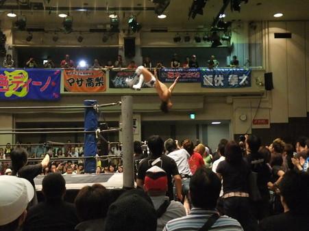 "DDT ""What are you doing 2012"" KO-D無差別級選手権試合 火野裕士vs飯伏幸太 (7)"