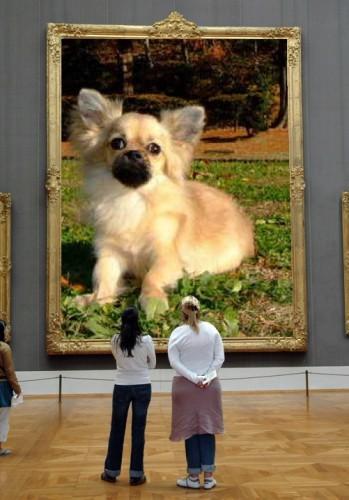 ついにルンタン美術館入り?!