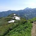Photos: CIMG2726 金山と裏金山が見えている