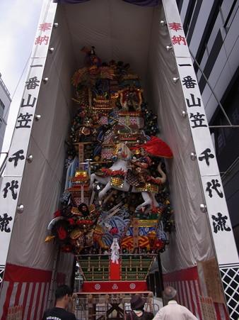 06 博多祇園山笠 飾り山 千代流 2012年 三國志(さんごくし)写真画像