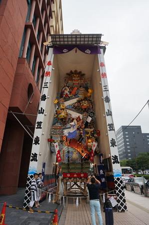 03 2014年 博多祇園山笠 飾り山笠 忠義軍師官兵衛 東流 (2)