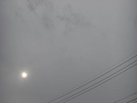 13時頃の空模様