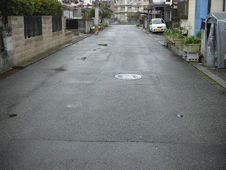 路面濡れてる