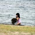 合浦公園・浜辺の清掃01-12.07.04