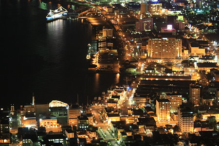 ベイエリアの夜景