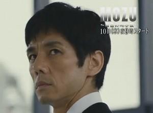 ドラマ『MOZU』西島秀俊