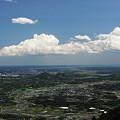写真: 初夏の風と白い雲^^