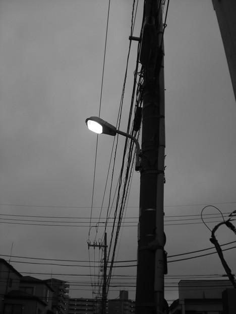 街燈ひとつ