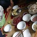 写真: 肉鍋2